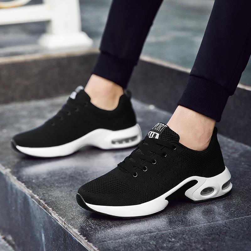 2021夏季新款休闲运动男鞋男士百搭潮鞋气垫薄款网面透气网鞋波鞋
