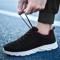 秋季防臭潮鞋运动休闲网面透气网鞋