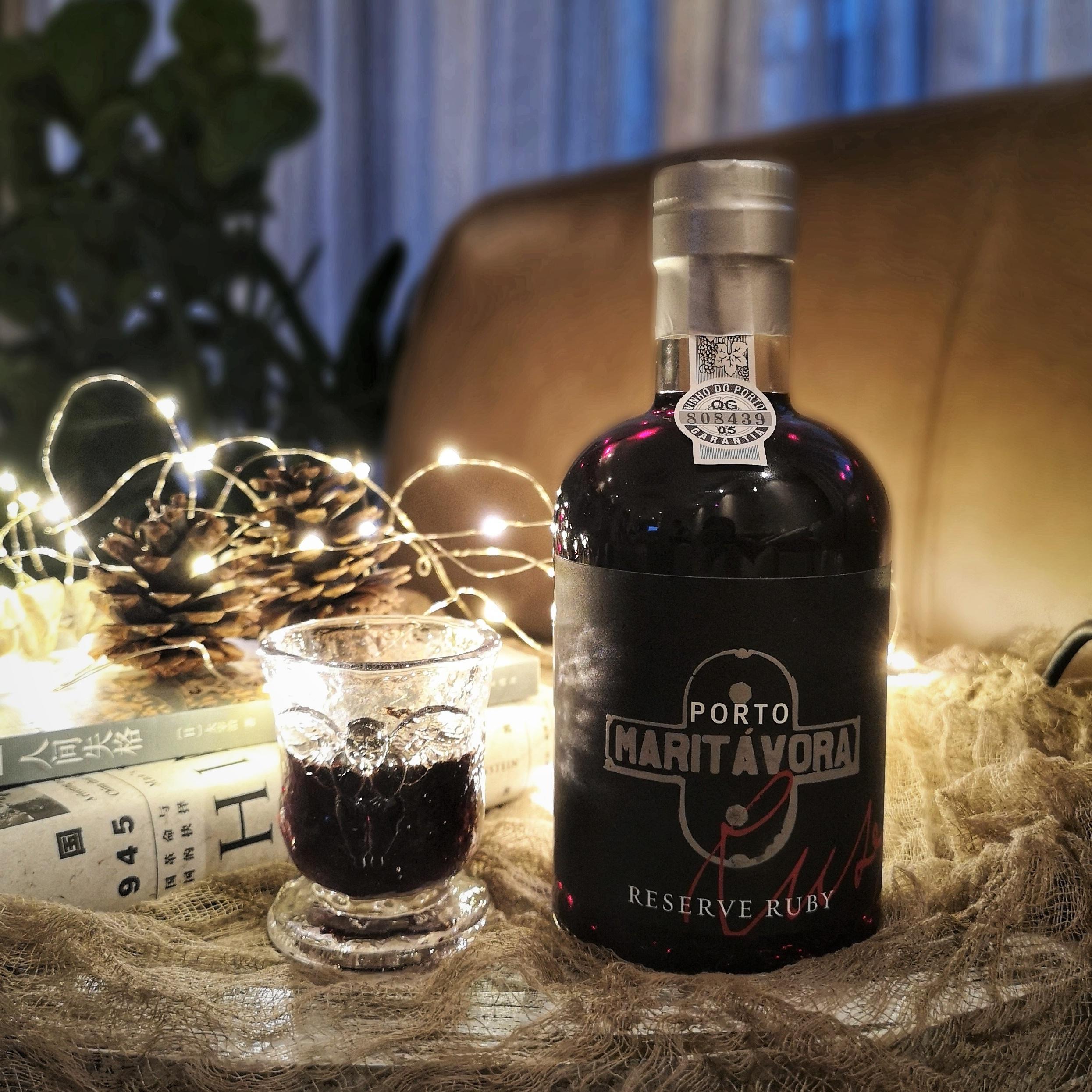 甜美晚安酒 葡萄牙原瓶进口 珍藏红宝石波特酒 高度数加强型甜酒