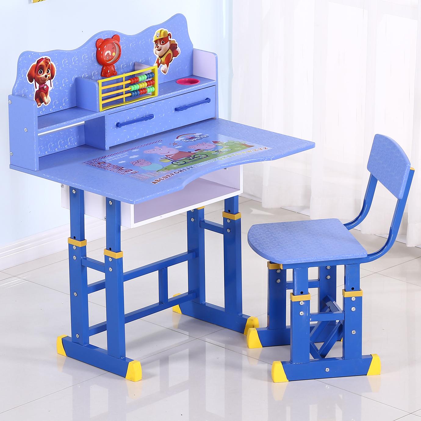儿童书柜组合男孩家用学生学习桌子