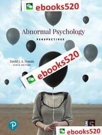 Abnormal Psychology: Perspectives 6th edition David