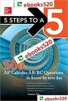 5 Steps to a 5 500 AP Calculus AB/BC Questions to Know by Te