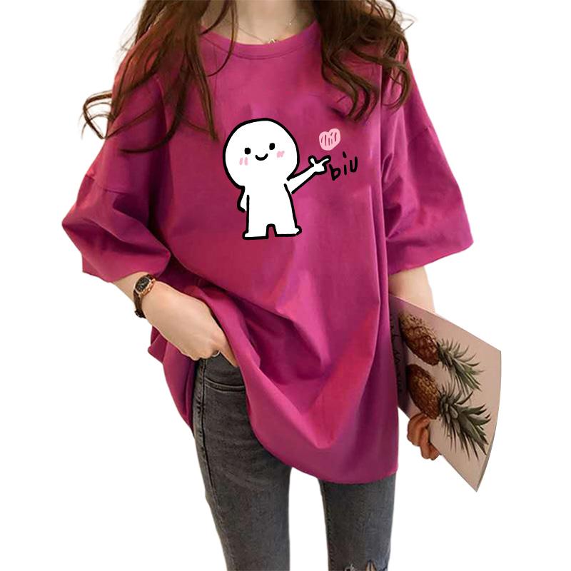 ins超火短袖t恤夏季网红潮打底衫质量如何