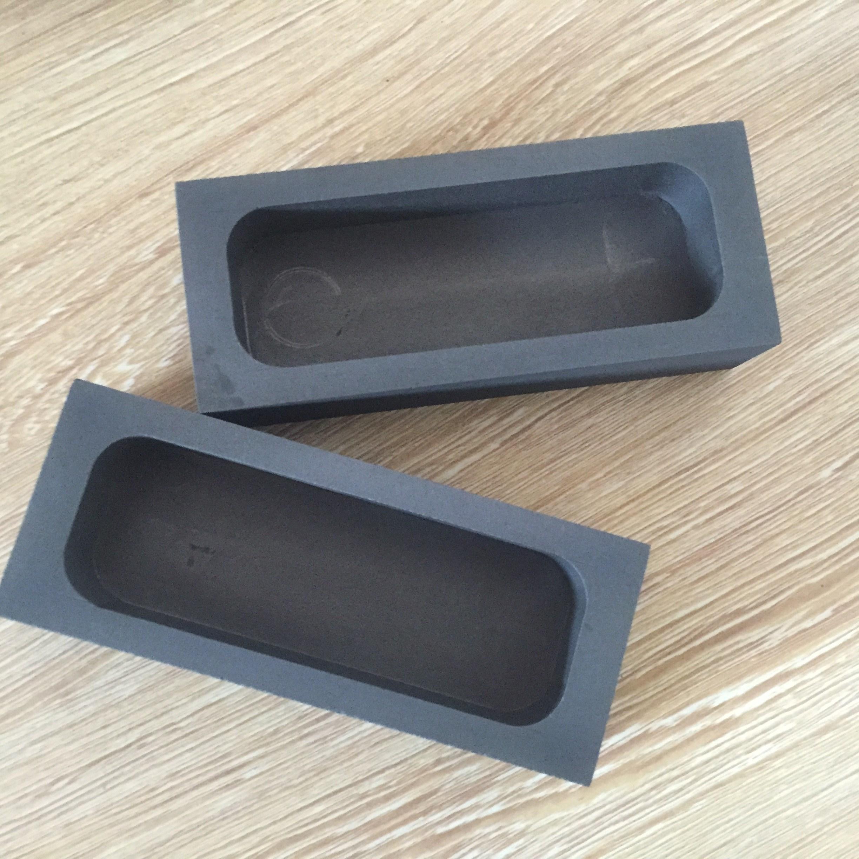 石墨油槽 石墨坩埚 石墨模具 熔金银铸锭模具 石墨槽金条银条块