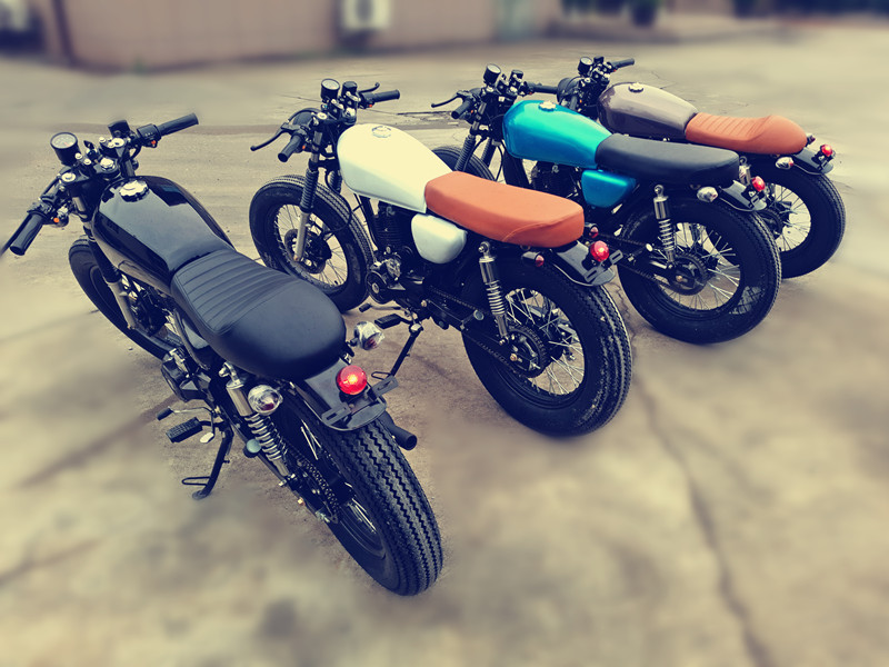 Mens Retro motorcycle CG fuel refitting customized whole vehicle licensed Harley Prince arcade car country 4 electric coffee