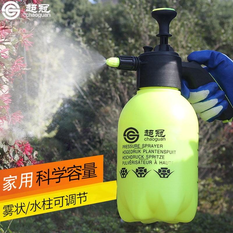 2L澆花噴壺園藝家用灑水壺氣壓式噴霧器壓力噴水壺3L洗車消毒噴水