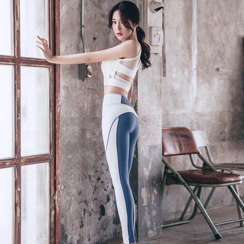 瑜伽服夏季套装女2019新款显瘦网红健身服专业运动性感时尚初学者图片