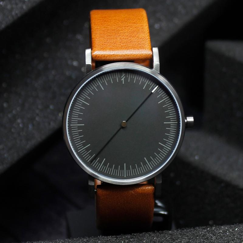 simpl中性简约小众潮女创意概念指针黑科技抖音个性潮流ins男手表