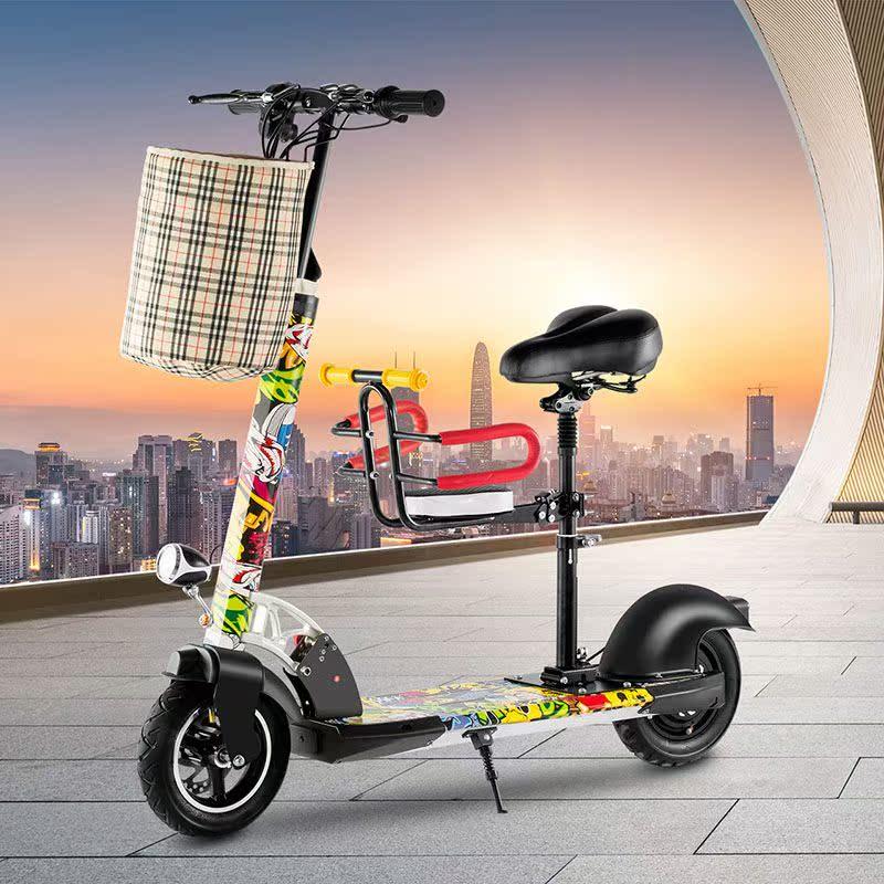 12月01日最新优惠揽胜电池代驾电动滑板车成人锂电迷你电动车女两轮折叠代步自行车