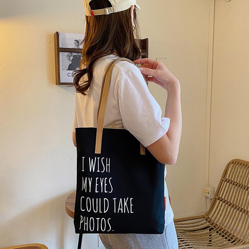 中國代購 中國批發-ibuy99 女包 新疆棉2021新款休闲购物包包女夏帆布包大容量单肩女包百搭手提包