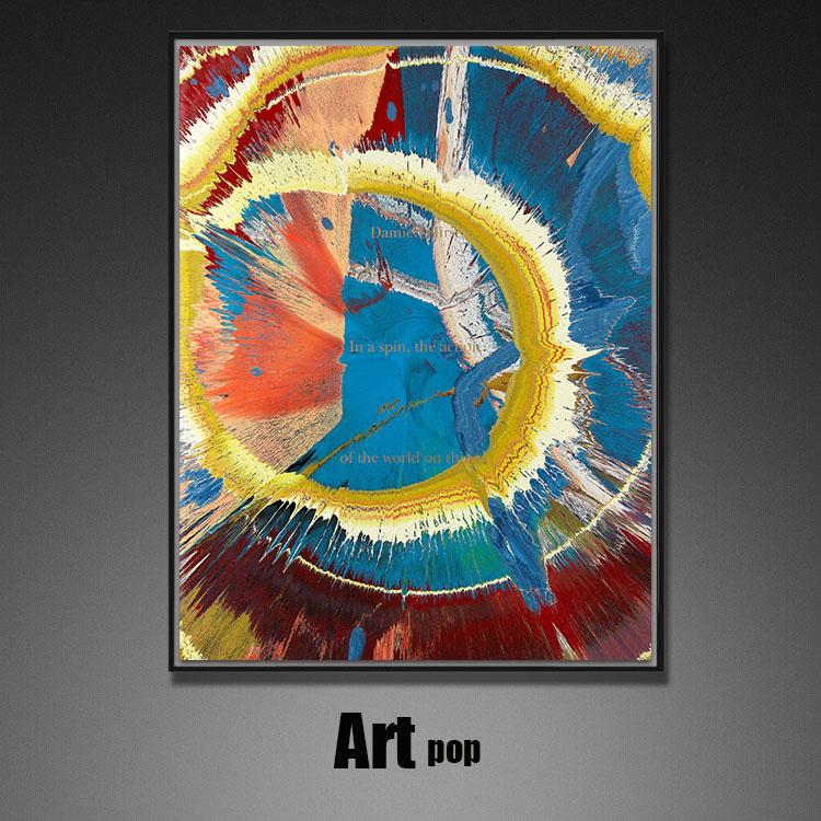 新中式书房挂画客厅装饰画】玄关竖版过道抽象油画名家【原作版画