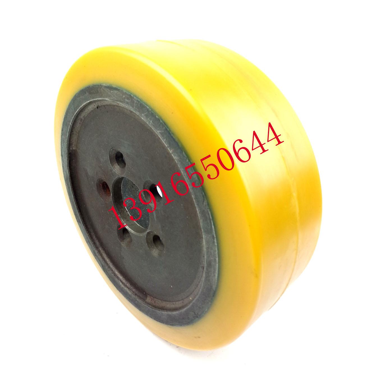 林德フォークリフトの車輪の全電動ヒープの高車L 14 L 12 L 16 L 10の駆動輪の230 X 90のアクティブホイールのステアリングホイール