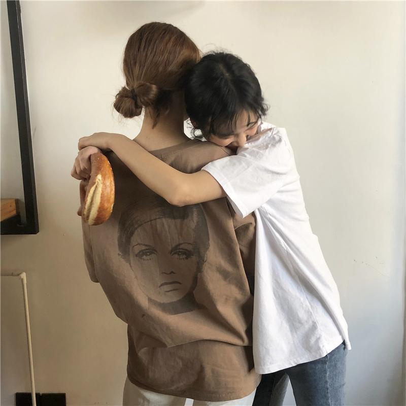 #百搭t恤+穿t恤就对了#樱田川岛t恤女初间小铺bf青春少女装布衣酱