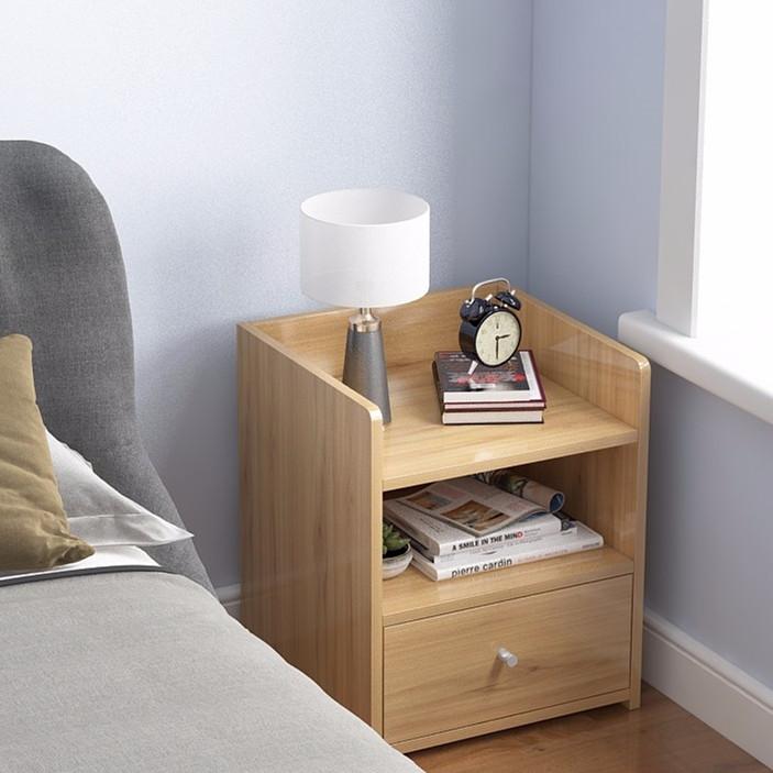 床頭櫃北歐簡約現代簡易多功能經濟型收納櫃床邊卧室小柜子置物架