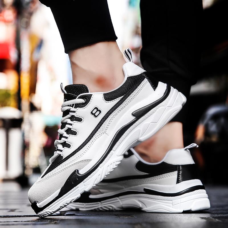 Осень Ботинки приливов корейская версия Спортивная обувь ulzzang кроссовки Harajuku street street стрельба мужской Обувь для обуви