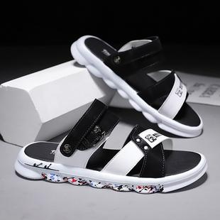 2020新款夏季沙滩潮流韩版两用凉拖开车男士拖鞋ins外穿凉鞋室外品牌
