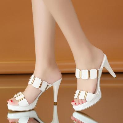 高跟凉拖鞋质量揭秘