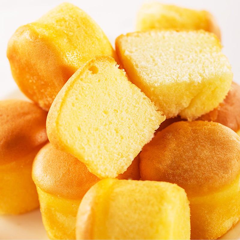 【新品】凯利来半熟蛋仔小蛋糕100g*5袋营养早餐食品休闲糕点面包