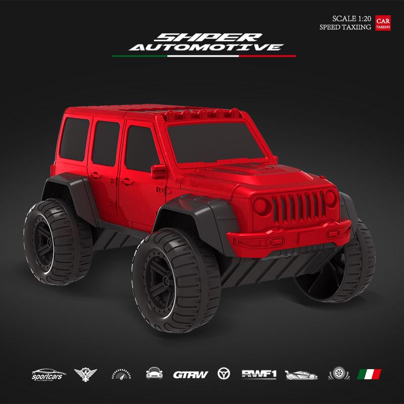 [车夫]儿童模型玩具越野汽车益智大小男孩女孩宝宝耐摔非遥控车模