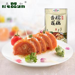 荷仙糯米藕蜜汁桂花香糯莲藕真空熟食即食甜糖藕扬州小吃包邮400g