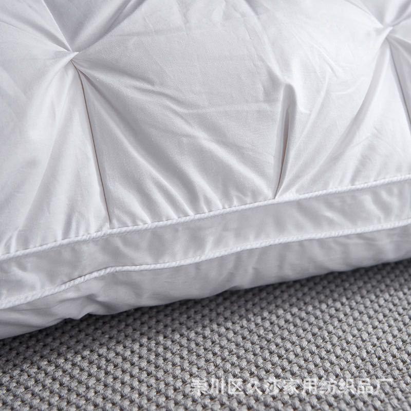 五星ホテルのダウンジャケットの枕芯は全綿のガチョウの羽の枕を簡単に予約します。
