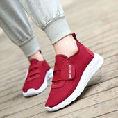 2020春季新款健步鞋老北京布鞋女软底透气防滑平底妈妈鞋中老年鞋