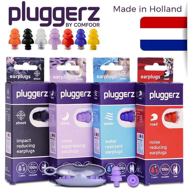 pluggerz荷兰专业滤波隔音睡眠耳塞打呼噜防噪音飞机降噪静音减压