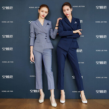 High end professional suit, goddess of temperament in autumn and winter, Korean business manager, women's formal suit, work suit