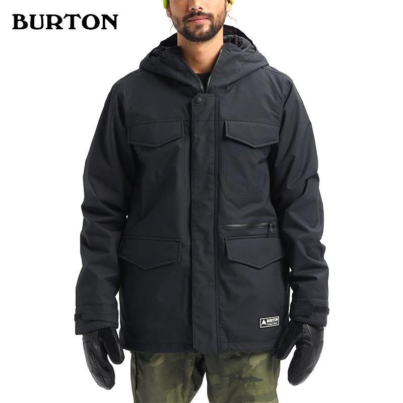 BURTON伯顿 W20新品男款滑雪服COVERT保暖夹克130651山脉户外
