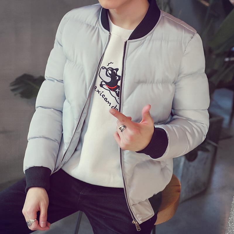 短袄冬季韩版男式袄男装潮小棉袄