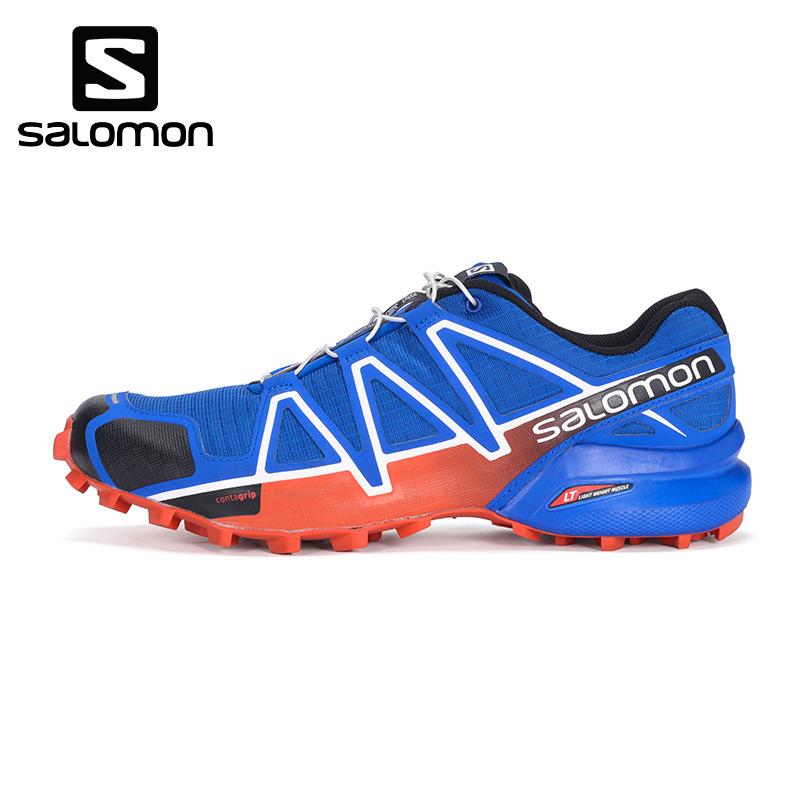 Salomon  萨洛蒙新品男款户外轻便透气越野跑鞋 SPEEDCROSS 4