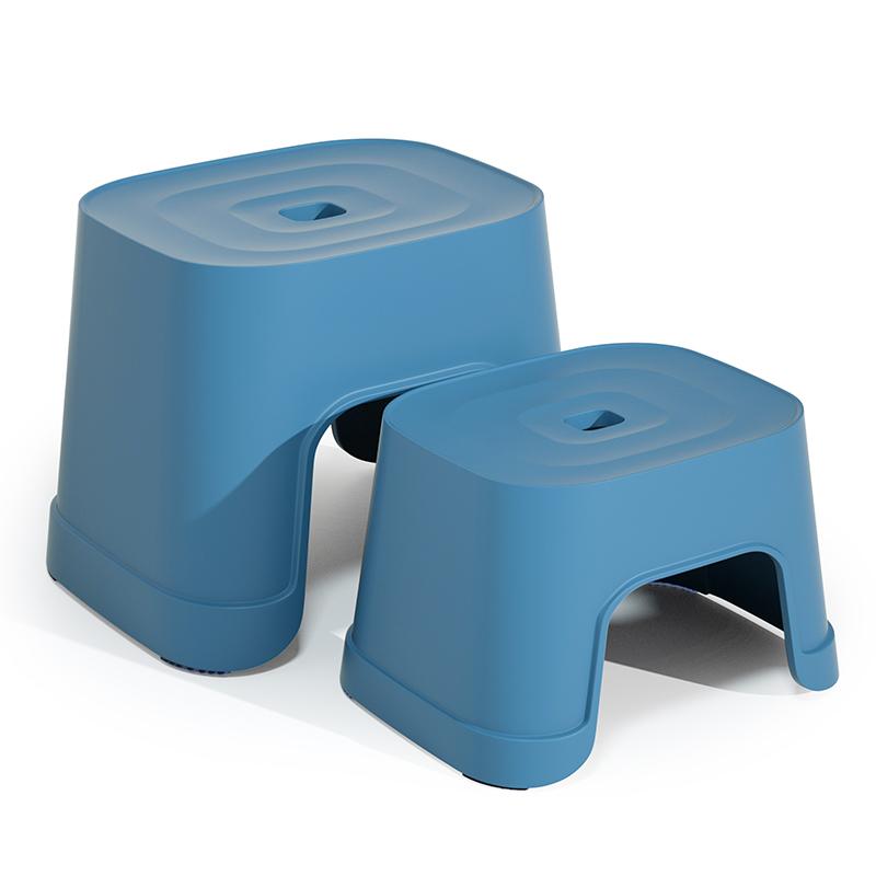 儿童凳子可爱小板凳家用卧室客厅矮凳北欧简约防滑塑料老人洗澡凳