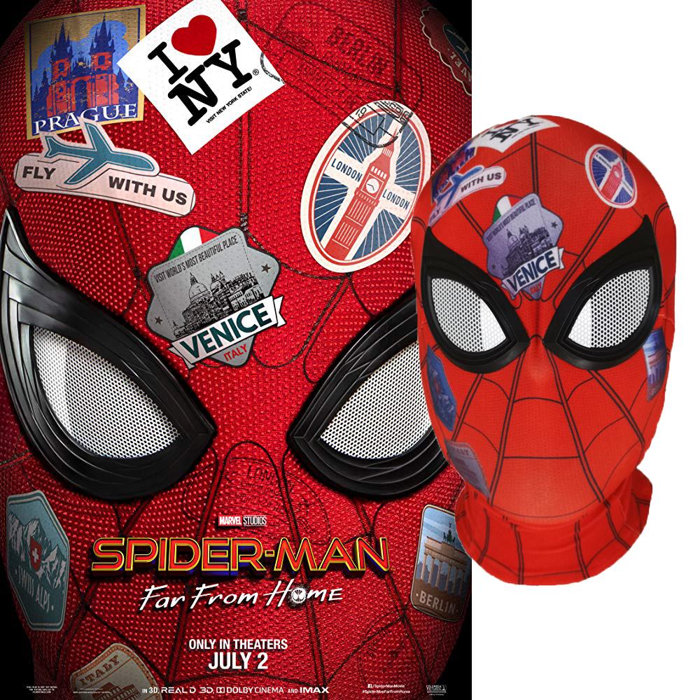 远征英雄头套 蜘蛛侠全脸面具 漫威复仇者联盟角色扮演演出道具
