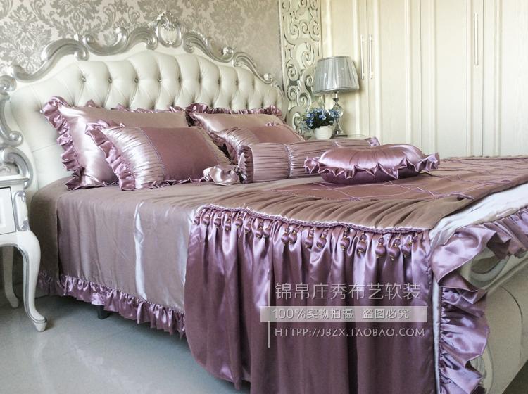 锦帛庄秀床品套件奢华新古典床品高档别墅床品奢华欧式床罩新款