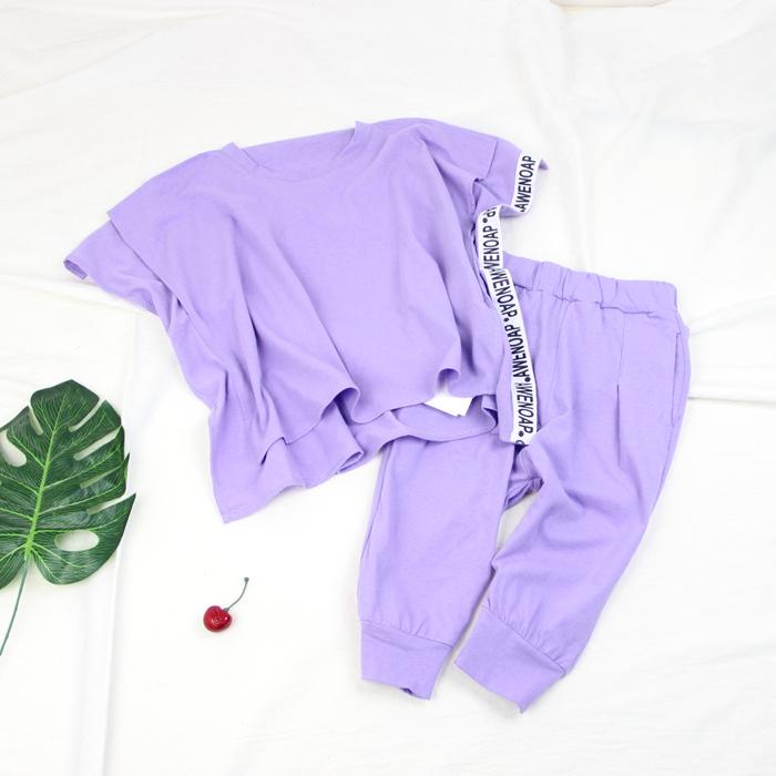 满35.90元可用1元优惠券2019木品牌裤套装童装夏款韩版卫衣
