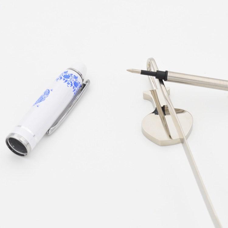 青花瓷笔书签套装 送老外特色民间工艺品出国外事送外国人小礼物