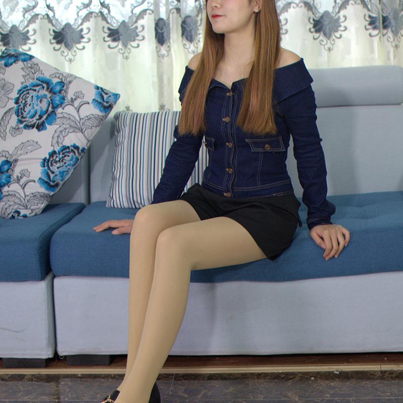 2019早春新款女装露肩开衫短款牛仔时尚修身一字领夹克外套AW8046
