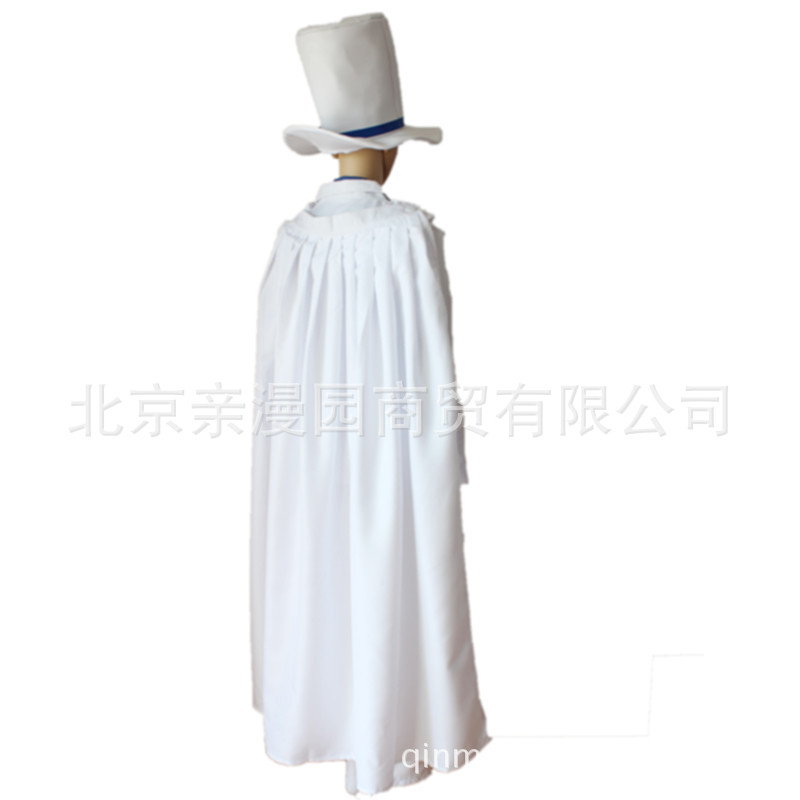 Detective Conan, magic, quick fight, strange thief, Kidd 1412, black feather, quick fight, cos suit, COSPLAY suit