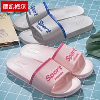 涼拖鞋女家用夏季情侶洗澡浴室防滑軟底室內防滑家居男士拖鞋