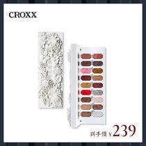 croxx玉藏赋生十八色眼影盘雕花大地色闪粉珠光哑光浮雕彩妆盘