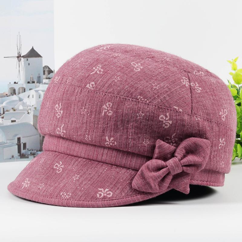 中老年人女士帽子春秋季妈妈帽子薄款时装帽夏天奶奶遮阳布帽透气