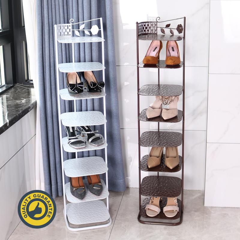 鞋架子门口放家用经济型窄小简易鞋架多层防尘省空间鞋柜收纳神器图片