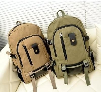Mens Backpack Travel Li large capacity leisure backpack for young mens canvas clothes