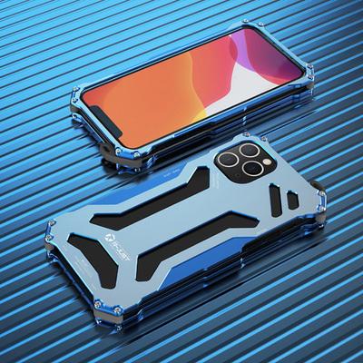 适用iPhone11手机壳个性创意男款苹果11promax高级感全包防摔金属