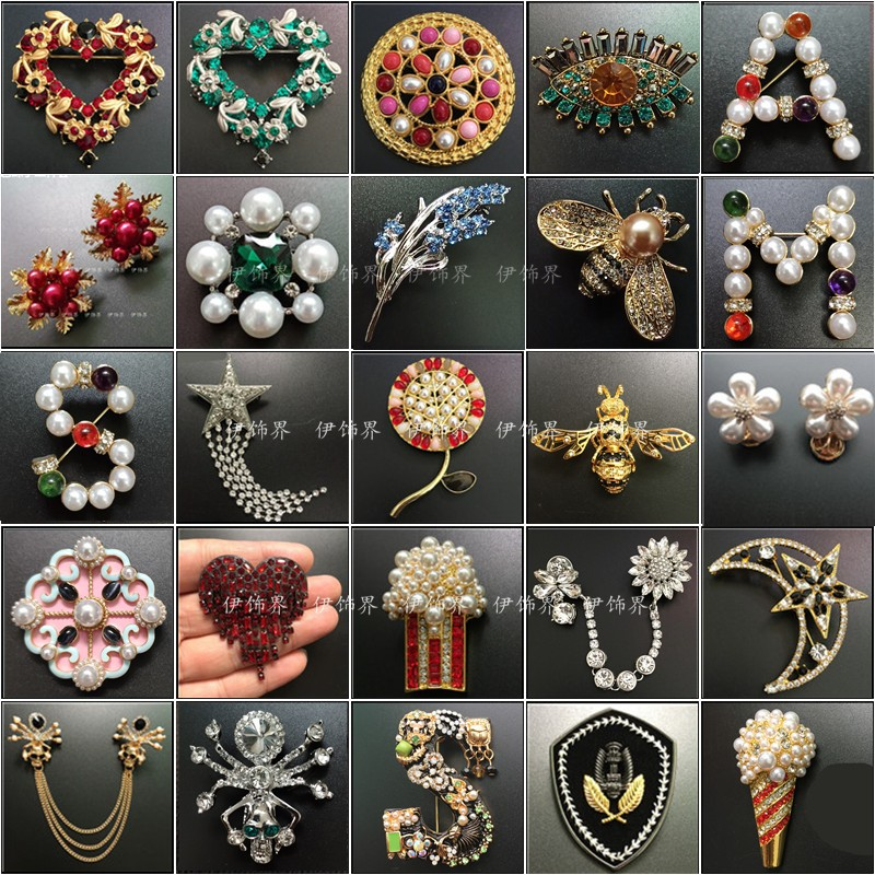 Professional amashite letter Brooch 2020 new brooch brooch bee high-end luxury accessories