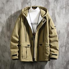 2019冬季加厚羊羔绒棉衣宽松加肥大码外套 A017 M681 P145