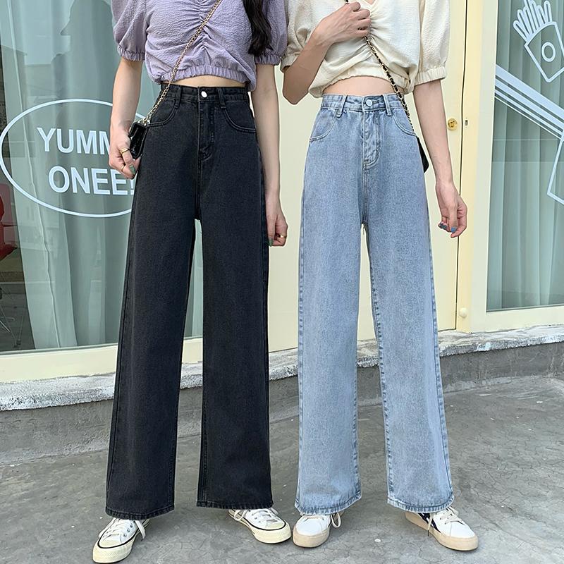 春秋季百搭高腰垂感宽松直筒裤子好用吗