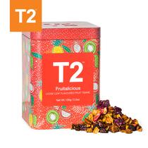 100g茶水果茶组合水果包装罐装原装进口T2澳洲