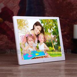 包邮超清三星屏15寸数码相框电子相册超薄壁挂1280*1024图片
