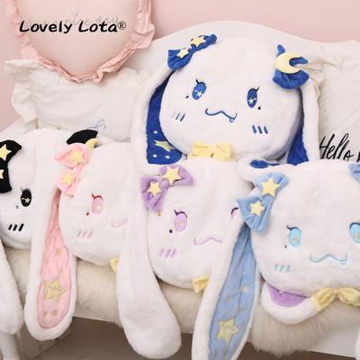 LovelyLota原创 koko星月兔软萌兔头版背包Lolita毛绒玩偶包 现货
